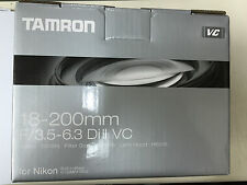 Tamron AF 18-200mm f/3.5-6.3 Di II VC DX Lens B018N for Nikon APS-C DSLR's