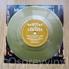 """Freddie Mercury Queen Golden Boy Unplayed Gold Coloured Vinyl 7"""" single"""