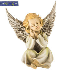 Angel Figurine with Hands on Cheek. Spring Garden Yard Decor Outdoor Patio