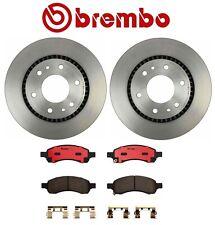 FRONT+REAR KIT 2874 *DRILL /& SLOT* Brake Rotors Platinum Hart CERAMIC Pads