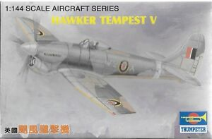 Trumpeter Hawker Tempest V in 1/144 1305