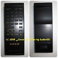 UHER UCD-310R CD Player original Fernbedienung in neuwertigen Zustand, Top