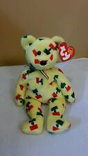 Ty Beanie Baby PINATA  the Mexican Bear With Black Nose 2003, Retired & New