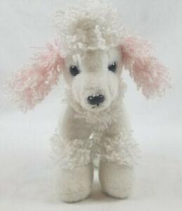 Aurora Princess Poodle Dog White With Crown Plush Stuffed Animal 2019
