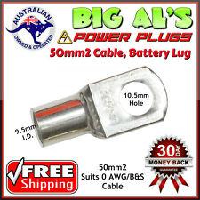 10x 50-10 50mm2-10mm Dual Battery Auto Automotive Cable Lug Connector Crimp 0B&S