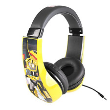 Kids Transformers Headphones On Ear Cool Headband Children Safe Volume Limited