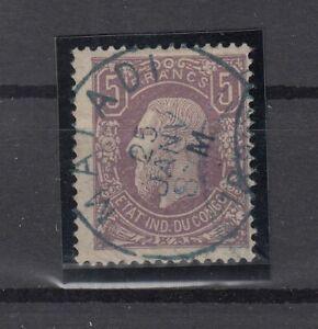 CZ7791/ BELGIAN CONGO – LEOPOLD II - MI # 5A USED – CV 380 $