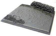 Milicast DBS12 1/76 Resin Diorama Base Set with Stone Wall & Country Lane