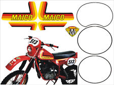 Maico 250 1982 cristal/adesivi/adhesives/stickers/decal