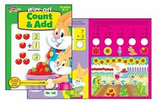 Count and Add Wipe Off Reusable Educational Activity Book