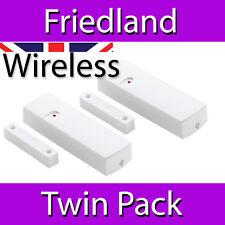 FRIEDLAND DC55 TWIN PACK STANDARD WIRELESS WINDOW DOOR CONTACTS 433MHz