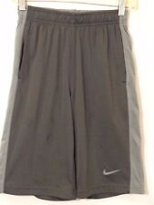 Nike Boy Athletic Basketball Shorts Sz Large Grey
