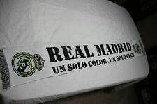 BUFANDA DE FUTBOL DEL REAL MADRID UN SOLO COLOR UN SOLO CLUB COTIZADA SCARF