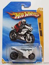 HOT WHEELS 2010 NEW MODELS DUCATI 1098R WHITE