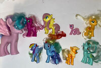 Lot Of 9 Of My Little Pony Figures Very cute and in VGC