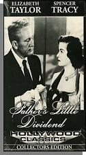 Father's Little Dividend (1951) - Spencer Tracy, Elizabeth Taylor-New VHS Video!
