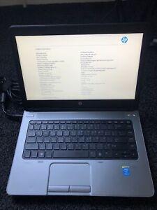 "HP ProBook 640 G1 14"" Intel Core i5 16GB RAM 240GB SSD WIN10 WEBCAM DVDRW BM1"
