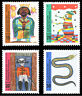 EBS Germany 1971 Youth - Jugend - Children's Drawings - Michel 660-663 MNH**