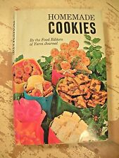 HOMEMADE COOKIES Farm Journal Cookbook Vintage Recipes HCDJ 1971 Clean