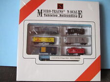 MICRO TRAINS CSX KATO GP 38-2 TABLETOP SET 32130 20820 47010 56220 50190 N KADEE