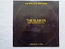 The Bollock Brothers The Bunker 1980 McDonald & Lydon 1st Strawberry Press VG+