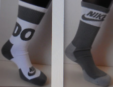 Nike Homme / Femmes Vêtements de Sport Chaussettes Crew 2 Paires 1 Pack Gris