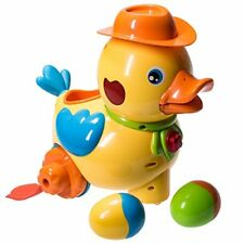 bump 'n go walking egg laying duck with lights sound 'n music- great Easter gift