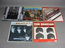 5 LP Lot Mono Meet The Beatles Hard Days Night + 1962-1966 Hey Jude Sgt Peppers