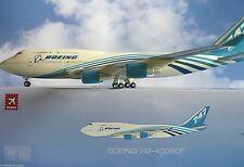 Hogan Wings 1:200 Boeing 747-400BCF House Colour LI4319 + Herpa Wings Katalog