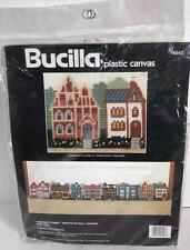 Bucilla Chestnut Street 6047 Plastic Canvas Draftstop Wall Hanging Kit MacGregor