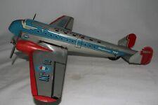 1940's Marx Sky Cruiser Tin Airplane, Nice Original