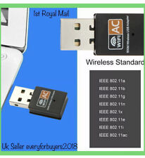 More details for 600 mbps 2.4-5ghz usb dual band wireless adapter wifi dongle 802.11 ac laptop pc