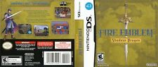 - Fire Emblem Shadow Dragon DS Replacement Case Cover Art Work Only