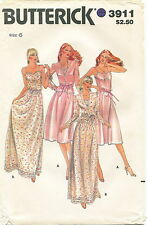 Butterick 3911 Misses Vintage Jacket & Dress Sewing Pattern ~ Size 6 ~ Uncut