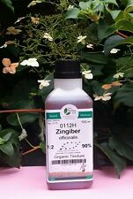 Jengibre (Zingiber officinale) relación 1:2 - 500ml orgánicos Tintura.