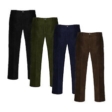New Mens Gents Corduroy Cord Cotton Pant Casual/Formal Trousers Big Size 30-50