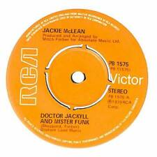 """Jackie McLean - Doctor Jackyll And Mister Funk - 7"""" Record Single"""