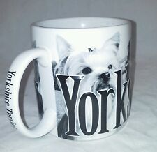 Yorkshire Terrier Coffee Mug 2007 Americawear 18 Ounce Yorkie 3D Letters