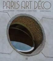 LIVRE/BOOK : PARIS ART DECO (architecture,ferronnerie,vitrail,magasins,decor ..
