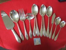 New Listing(12) Rogers Is Silverplate Serving Pieces, 1938 Pickwick #13