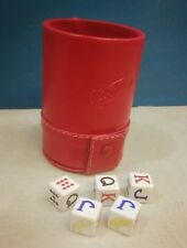 Cerveza Victoria Beer Cubilete Poker Dice Shaker Cup Game Poker Stars Party Gift