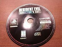 Sony PlayStation 1 PS1 PSOne Disc Only Tested Resident Evil Director's Cut Capco