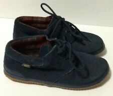 Daniel Green Women's Size 7W Booties Shoes Blue Suede