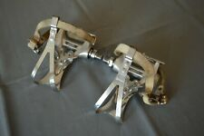 Vintage Shimano 600 PD-6207 pedals with Shimano clips