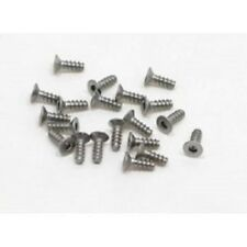 PN RACING 700346 M2x6 Countersink Stainless Steel Hex Plastic Screw (20pcs)