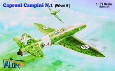 """Valom 1/72 Model Kit 72086 Caproni Campini """"What If"""""""