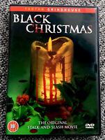 Black Christmas UK REGION 2 DVD Tartan Grindhouse Slasher