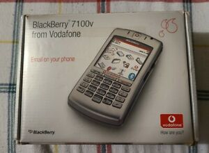 BlackBerry 7100v - Silver Grey Smartphone - Fantastic fully boxed condition