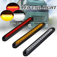 9.8 inch 15LED white Light Bar rear Stop Tail Light lamp for Car Trailer Truck