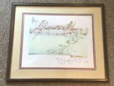 John L Doyle Original Watercolor Painting Voyagers